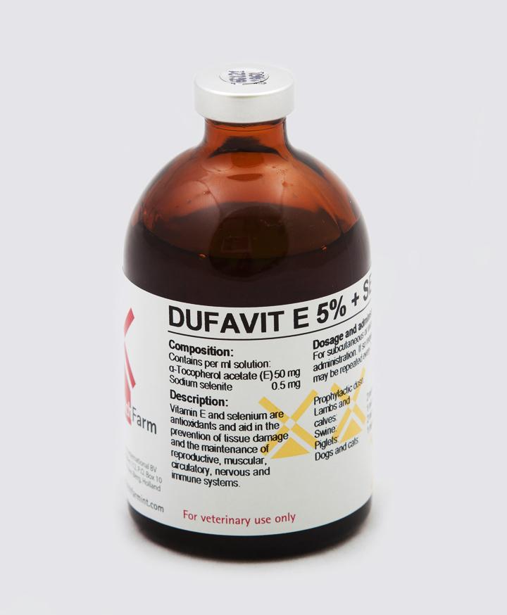 Dufavit E 5% + Sel Inj