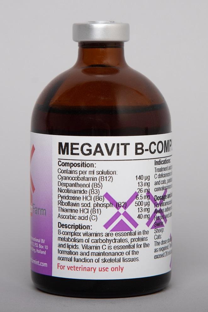 Megavit B-Complex + C Inj