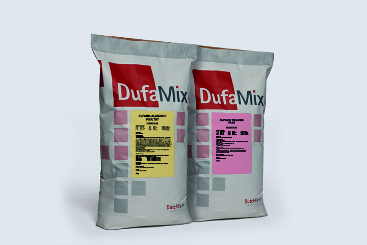 Feed premixes and additives by DufaMix